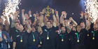 Sports achievement of the year: All Blacks RWC victory