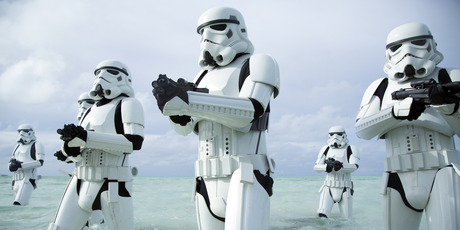 e Stormtrooper has finally spoken out about Star Wars' most popular fail. Photo / Lucasfilm