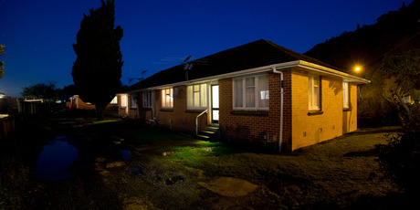 e flat on Ward Street, Upper Hutt, where Lois Tolley was murdered. Photo / Mark Mitchell