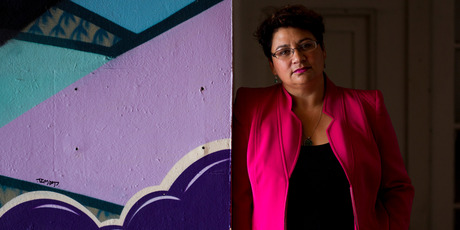 een Party MP and co-leader Metiria Turei. Photo / Dean Purcell