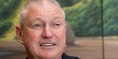 gh Burrett, former managing director of ASB Bank has passed away. Photo/Paul Estcourt.