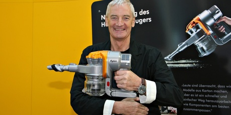 ventor and entrepreneur Sir James Dyson. Photo / Getty