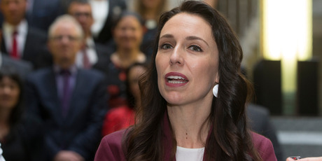 cinda Ardern refused to discuss which of its own policies Labour might need to jettison or scale back, such as NZ First's call for it to scrap water taxes on the rural sector. Photo / Mark Mitchell