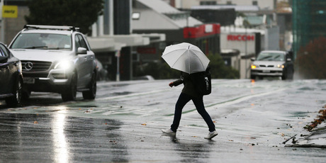 ssibly heavy rain for Auckland. Photo / Doug Sherring