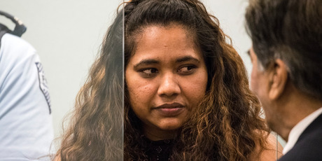 smeer Lata at sentencing in the High Court at Auckland last week. New Zealand Herald Photograph by Jason Oxenham