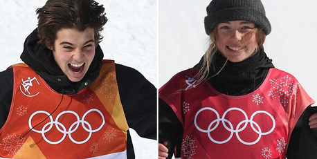 i Sadowski-Synnott and Nico Porteous secured New Zealand's first Winter Olympic medals in more than a quarter century. Photos / Photosport, Getty Images