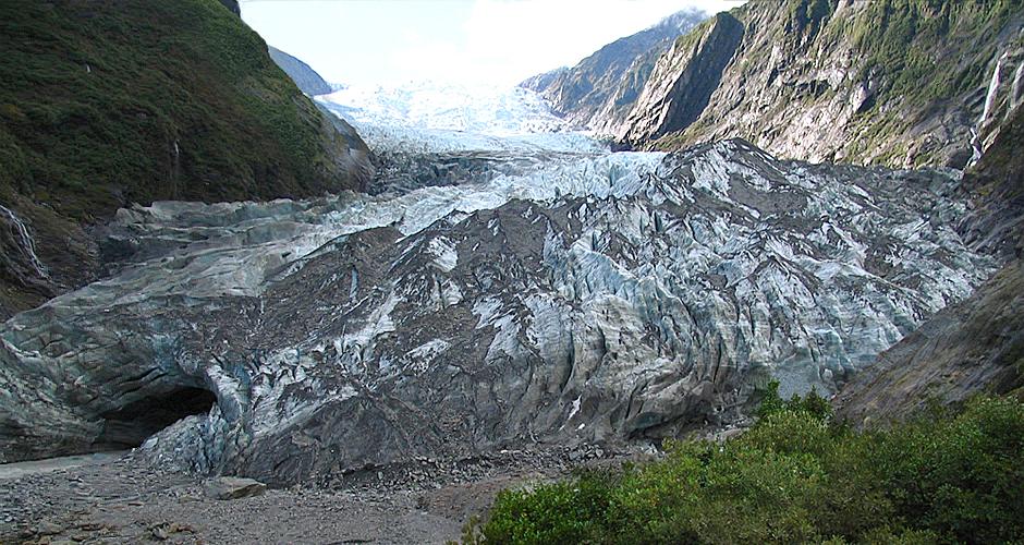 Franz Josef Glacier before