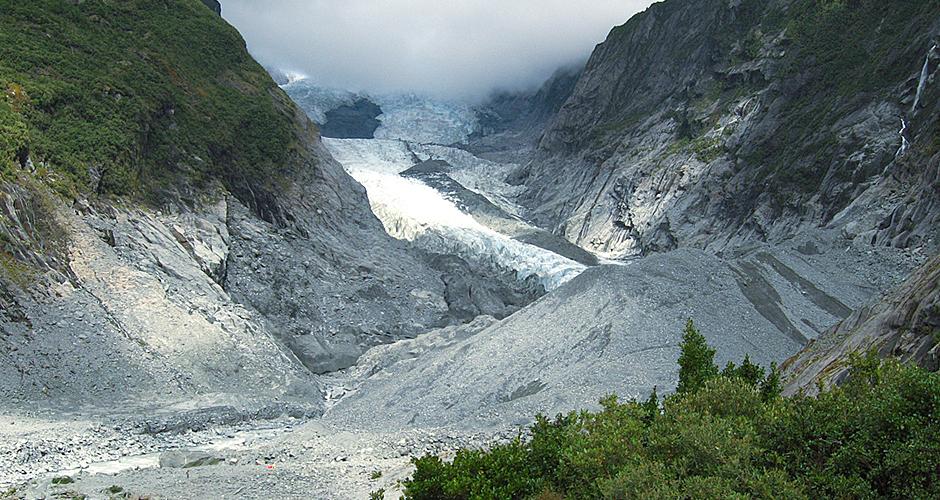 Franz Josef Glacier after